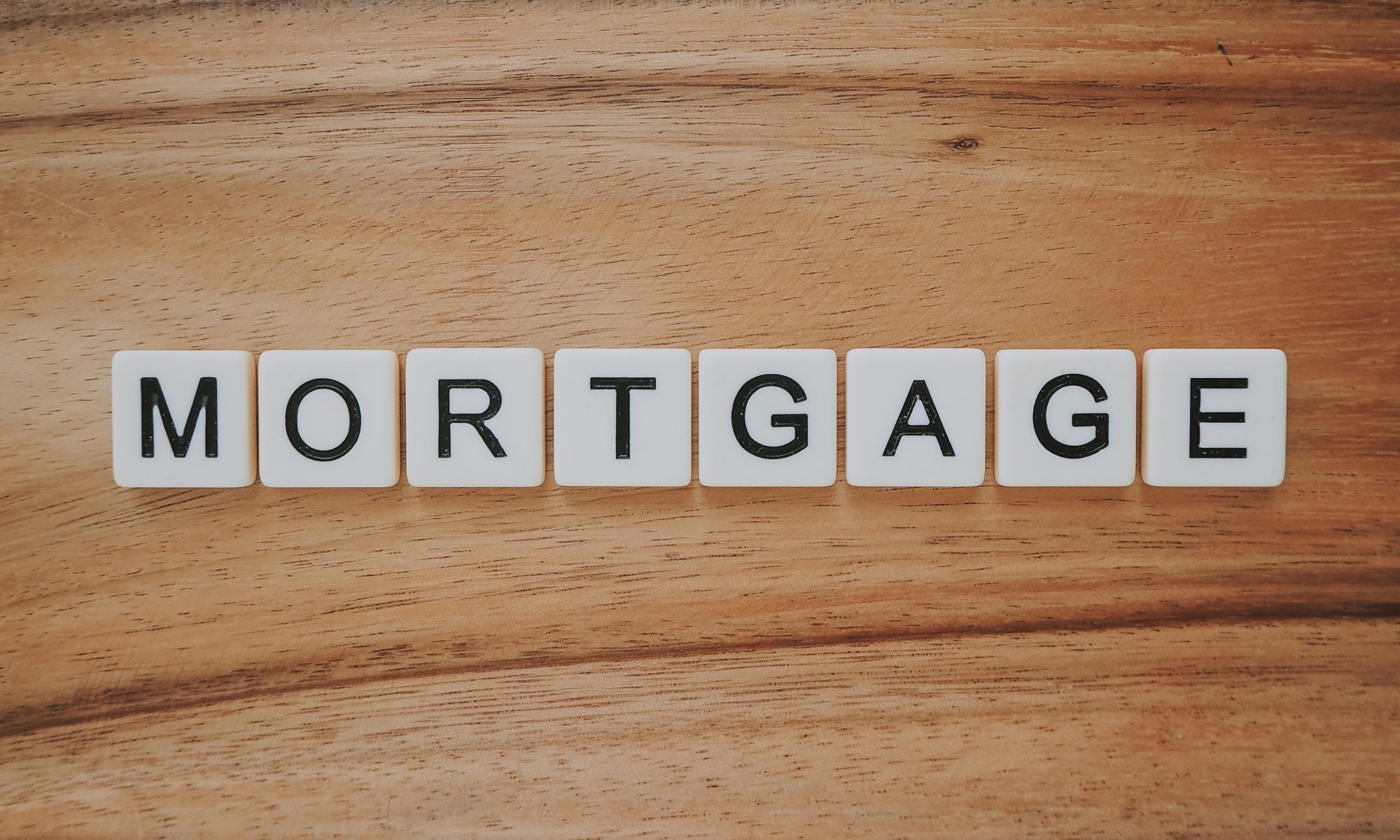 mortgage Scrabble tiles